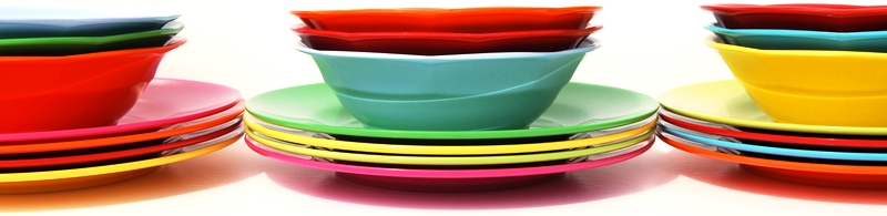 Bright colourful melamine dinner sets melamine plates and melamine bowls all by Rice DK.  sc 1 st  Vibrant Home : colourful tableware - pezcame.com