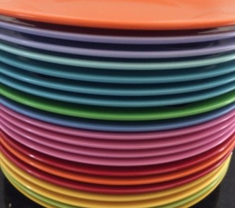 : colourful tableware - pezcame.com