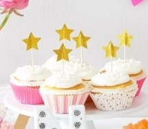 Meri Meri Gold Star Party Picks
