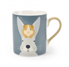 Arthur & Squeak Rabbit & Guinea Pig China Mug