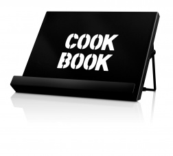 Cook Book Stand in Black by CKS Zeal