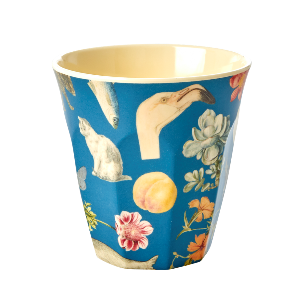 Blue Art Print Melamine Cup By Rice DK