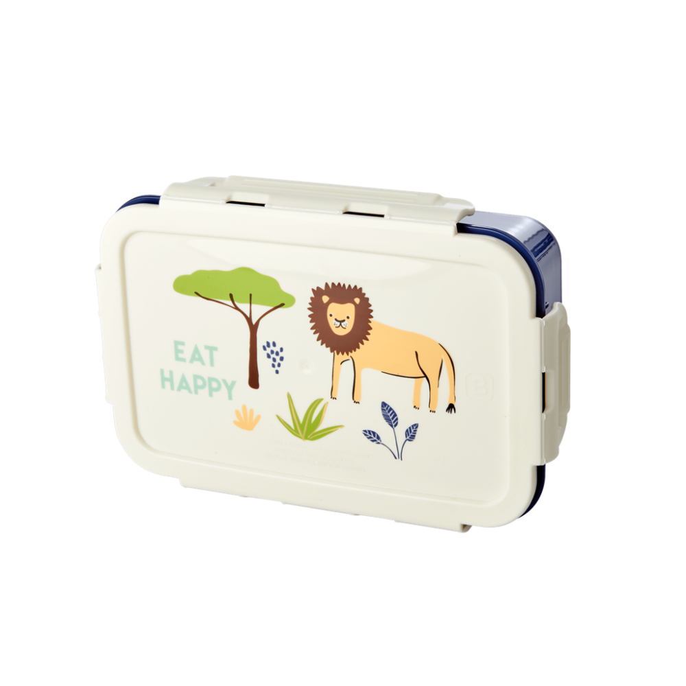 Blue Jungle Print Lunchbox By Rice DK