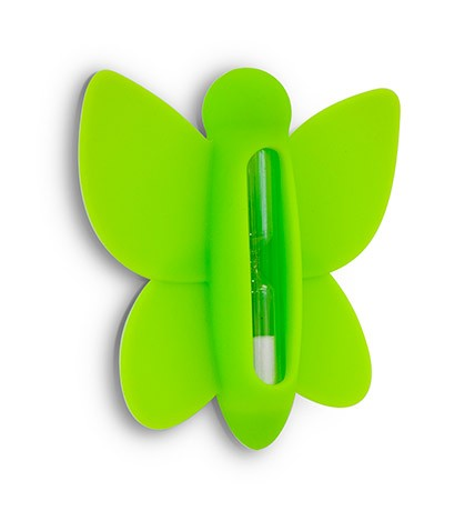Green Bonnie Butterfly Timer for Kids Teeth brushing by J-me