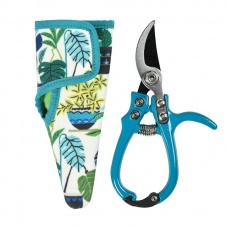 Brie Harrison Print Blue Secateur & Holster Gift Set