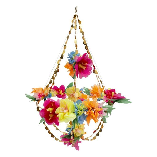 Bright Blossom Chandelier By Meri Meri
