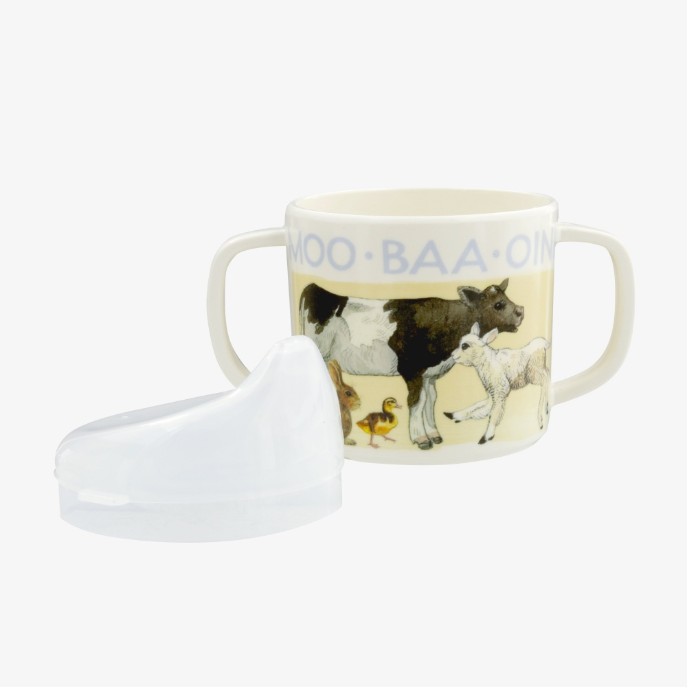 Bright New Morning Sippy Cup By Emma Bridgewater