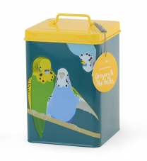 Burgon & Ball ''Gregory and Pecks '' Budgie Storage Tin