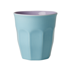 Mint & Lavender Two Tone Ceramic Cup By Rice DK