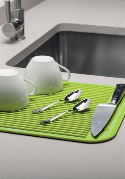 Kitchen Draining Mat in Silicone by CKS Zeal