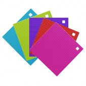 Small Colourful Silicone Trivet / Coaster CKS Zeal
