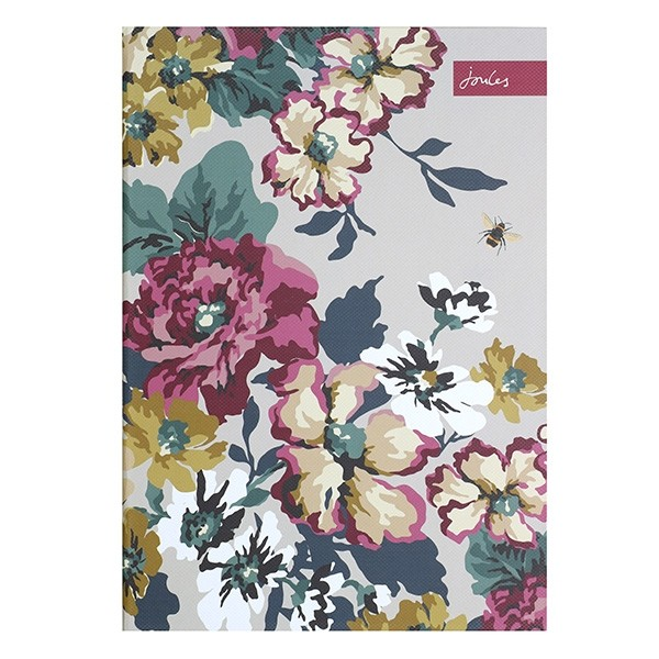 Cambridge Floral Pattern A4 Casebound Notebook By Joules