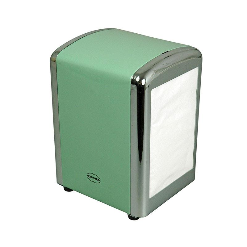 Cabanaz Table Tissue Dispenser Vintage Green