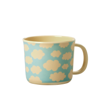 Baby Melamine Cup with Handle Cloud Print Rice DK