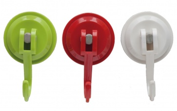 Colourful Reusable Suction Hooks CKS Zeal