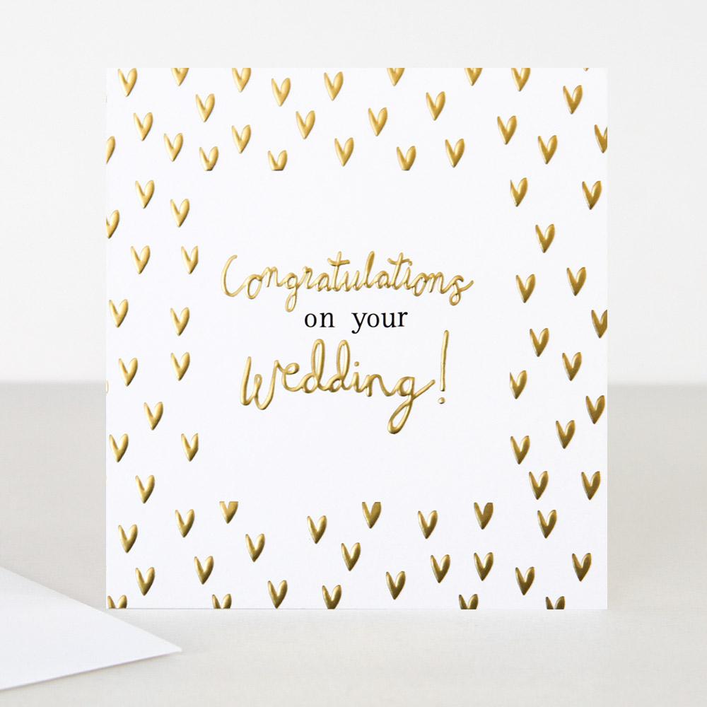 Congratulations On Your Wedding Card By Caroline Gardner Vibrant