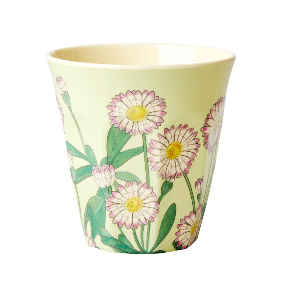 Daisy Print Melamine Cup By Rice DK