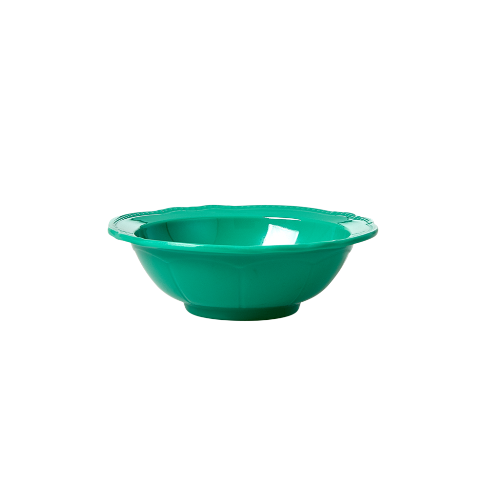 Dark Green New Look Small Melamine Bowl By Rice DK