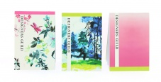Designer Guild Set of 3 Notebooks Chinoiserie Print