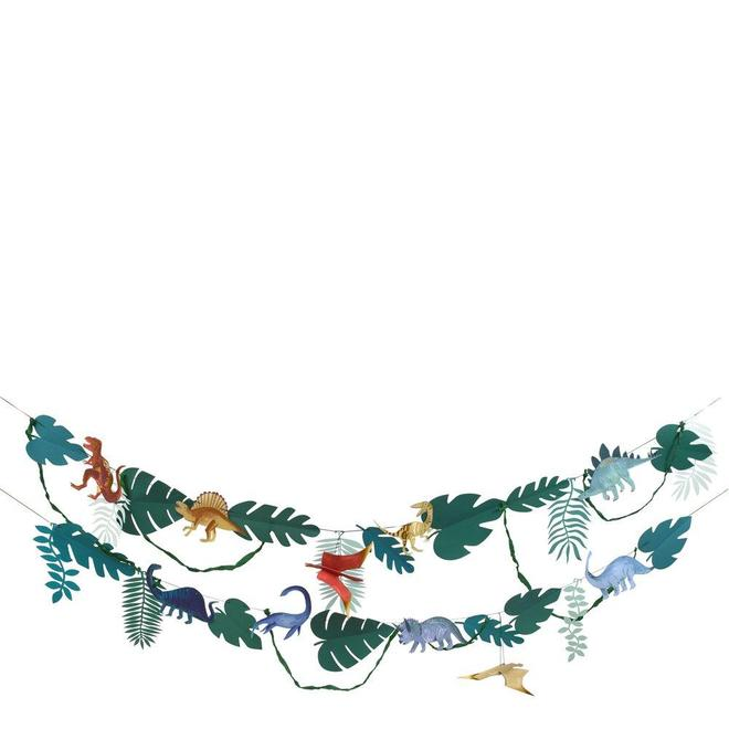 Dinosaur Kingdom Garland By Meri Meri