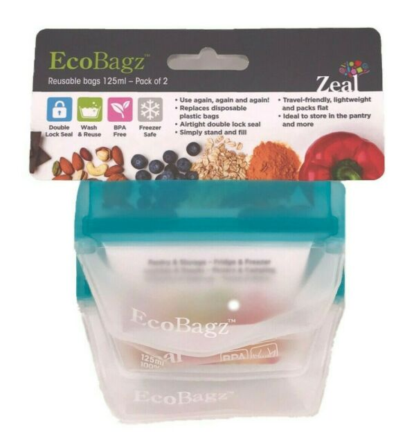 EcoBagz By CKS Zeal Set of 2, Size 125ml