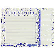 Emma Bridgewater Weekly Planner To Do List Blue Story