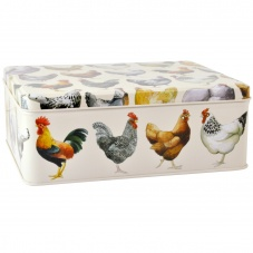 Emma Bridgewater Hen Deep Rectangular Tin