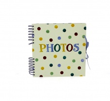 Emma Bridgewater Polka Dot Print Spiral Bound Photo Album