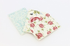 Emma Bridgewater Set of 3 Notebooks Rose & Bee Print