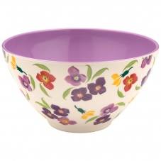 Emma Bridgewater Wallflower Print Large Melamine Bowl