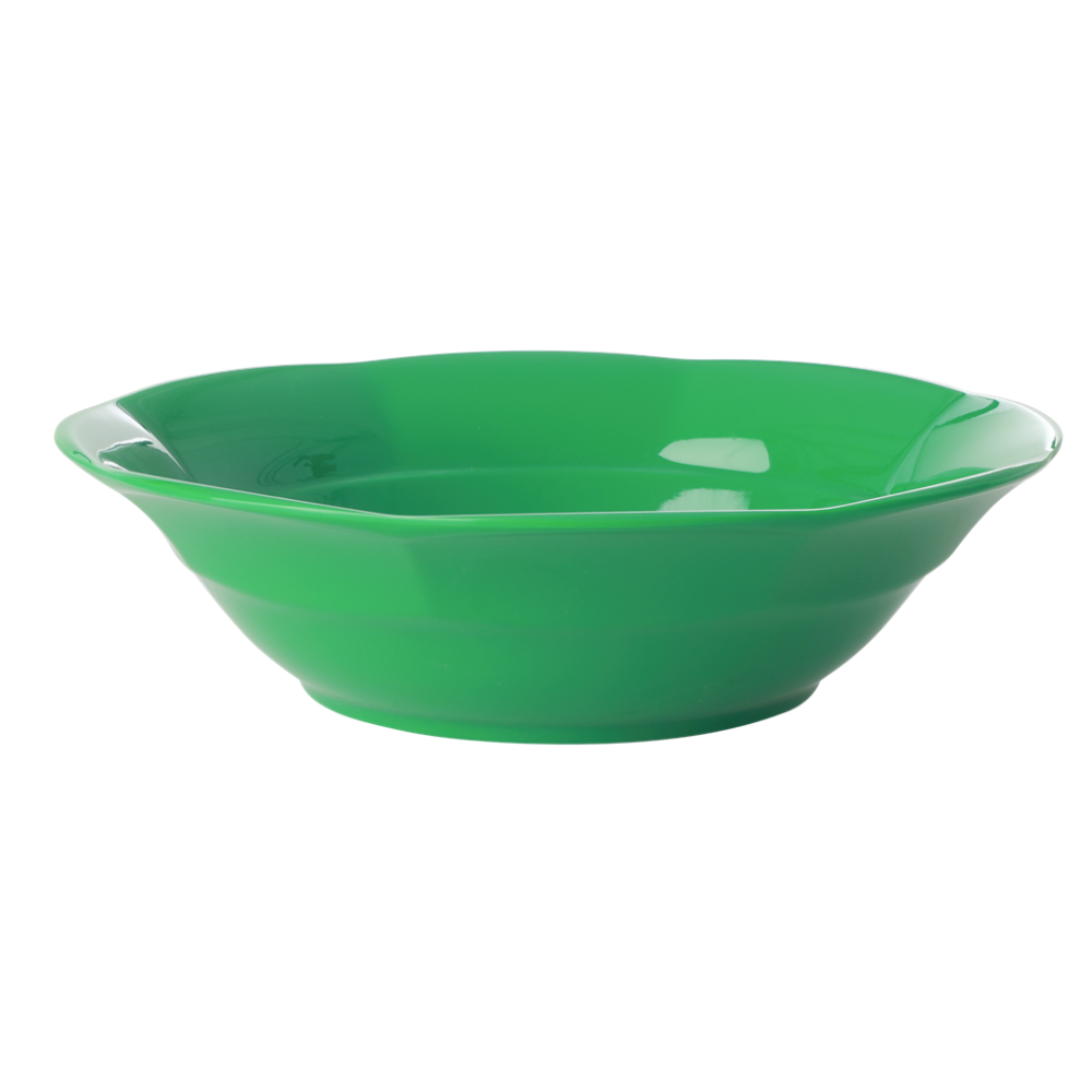 Forest Green Melamine Bowl By Rice DK