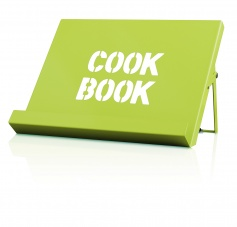 Cook Book Stand in Lime by CKS Zeal