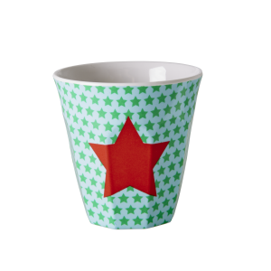 Kids Small Melamine Cup - Star Print by Rice DK