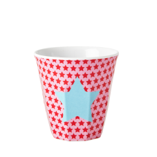 Girl melamine small cup with pink star print Rice DK
