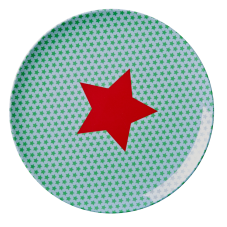 Kids Melamine Lunch Plate - Star Print by Rice DK