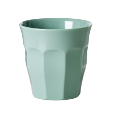 Khaki Green Melamine Cup by Rice DK