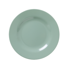Khaki Green Melamine Side Plate By Rice DK