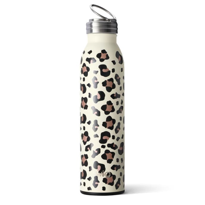 Leopard Print 20oz or 590ml Water Bottle By SWIG