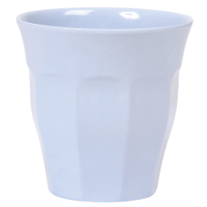 Soft Blue Melamine Cup - by Rice DK