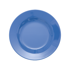New Dusty Blue Melamine Side Plate Kids Plate Rice DK