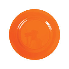 Orange Melamine Side Plate Kids Plate Rice DK