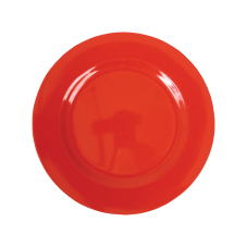 Red Melamine Side Plate Kids Plate Rice DK