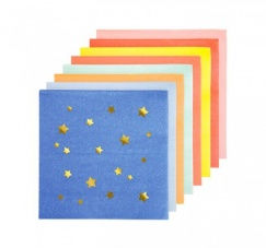 Jazzy Star Small Paper Napkins By Meri Meri