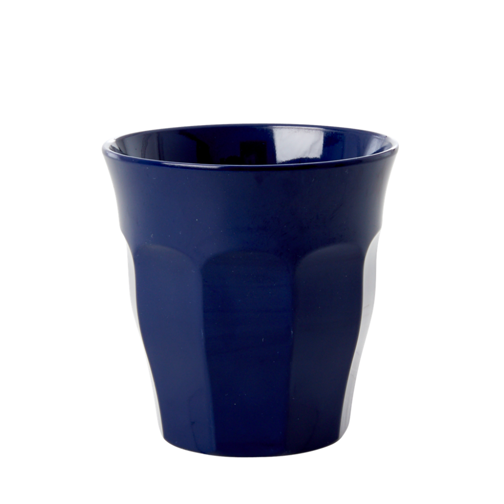 Midnight Blue Small Kids Melamine Cup Rice DK