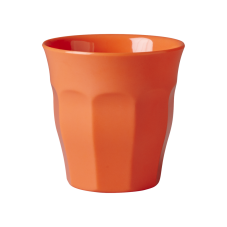 Rice Neon Orange Melamine Cup