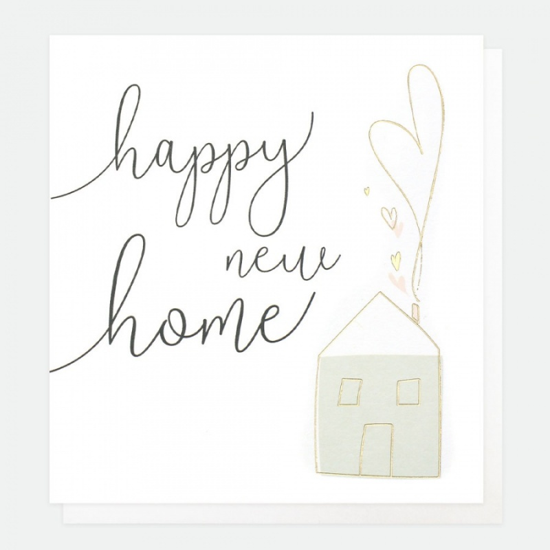 Happy New Home Card By Caroline Gardner Vibrant Home