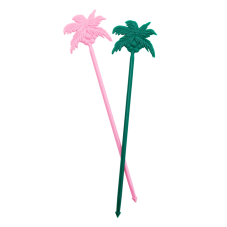 12 Palm Tree Cocktail Stirrers or Party Picks Rice DK