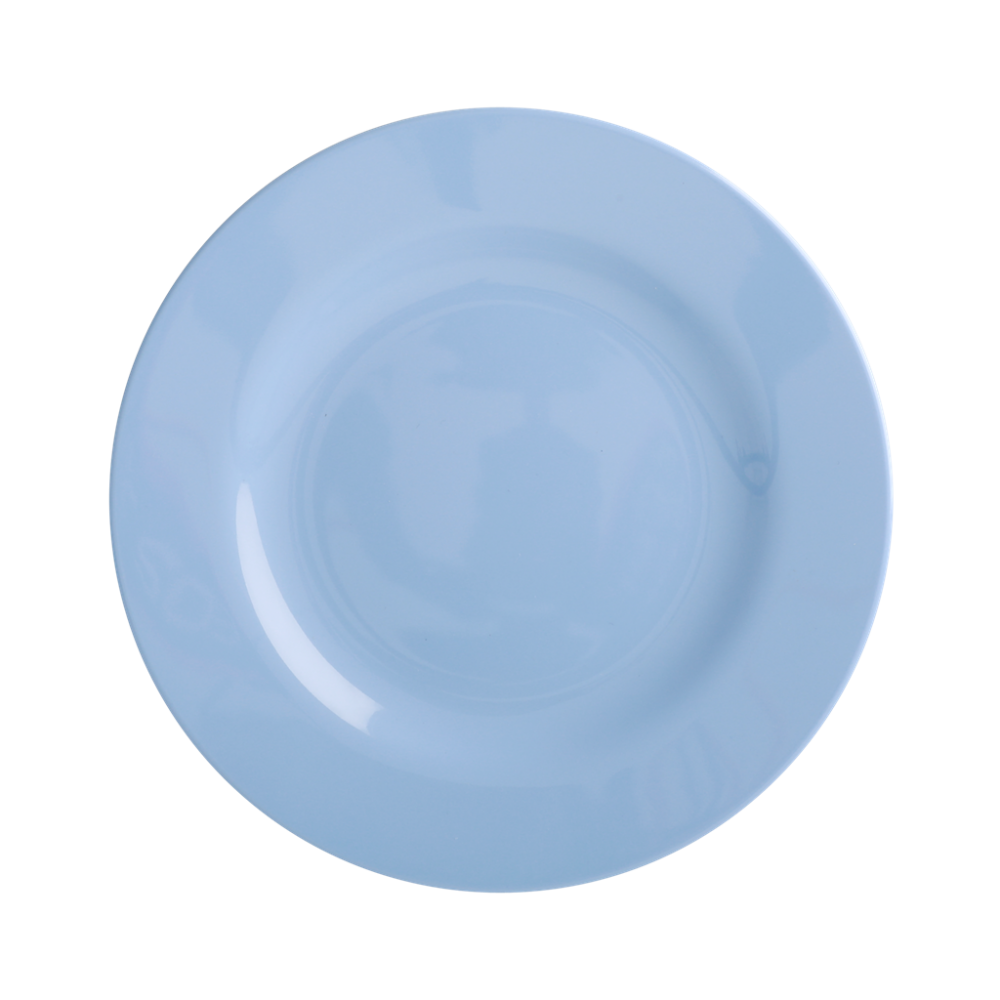 Pigeon Blue Melamine Side Plate or Kids Plate Rice DK
