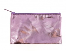 Pink Metallic Pencil Case
