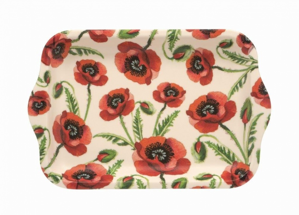 Emma Bridgewater Poppies Print Small Melamine Tray